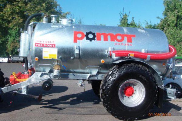 Cisterna jednonápravová T544/3