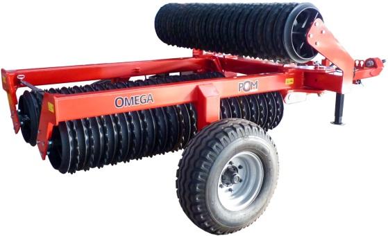 Lúčne a poľné valce OMEGA H (4,6 – 6,2m)