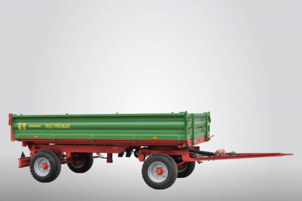 Traktorový príves Pronar T653/1 (5 t)