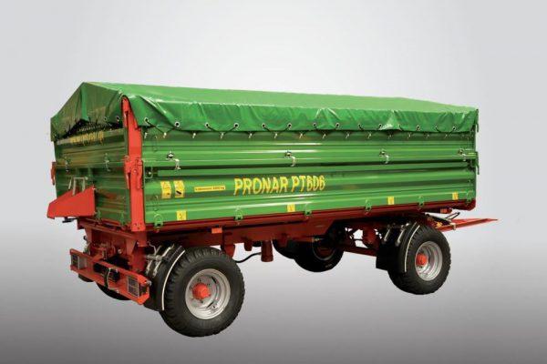 Traktorový príves Pronar PT606 (paletová šírka korby) (6 t)