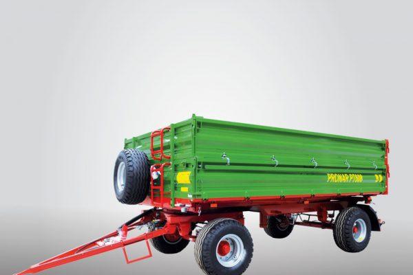 Traktorový príves Pronar PT608 (paletová šírka korby) (8,46t)