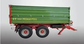 Traktorový náves PT 512 Pronar (paletová šírka korby) (12 t)