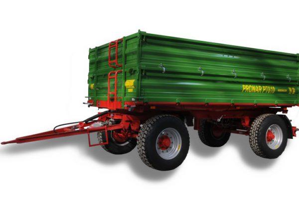 Traktorový príves Pronar PT610 (paletová šírka korby) (10,29 t)