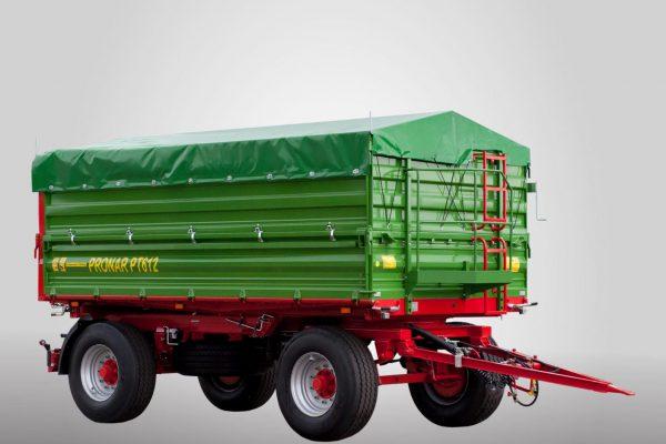 Traktorový príves Pronar PT612 (paletová šírka korby) (12 t)