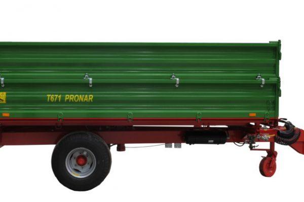 Traktorový príves Pronar T671 (5t)