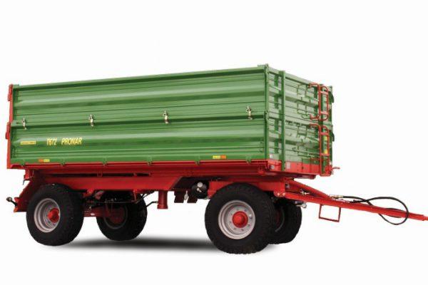 Traktorový príves Pronar T672 (8 t)
