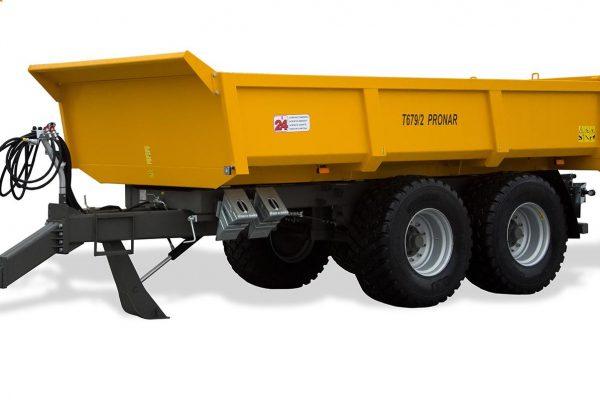 Traktorový náves Pronar T679/2 (12 t)