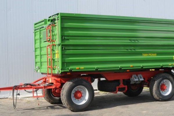 Traktorový príves Pronar T680 H (12,98 t)