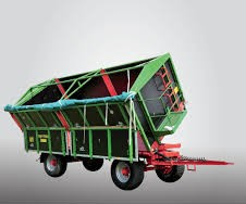 Traktorový príves Pronar T680 P (13,16 t)