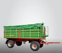 Traktorový príves Pronar T680 U (13,03 t)