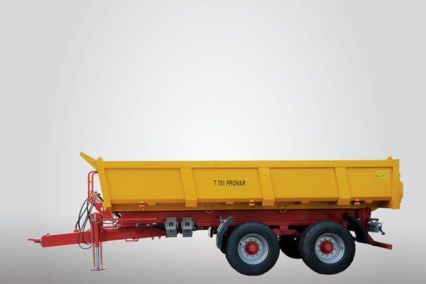 Traktorový náves Pronar T701 (14,84 t)