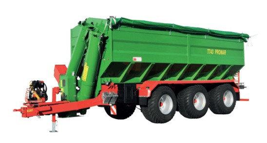 Prekladací voz na obilie T743 (22,7 t)