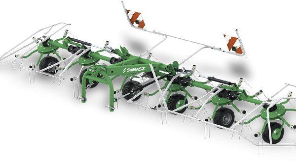 Obracače P4 (4 rotory) SAMASZ