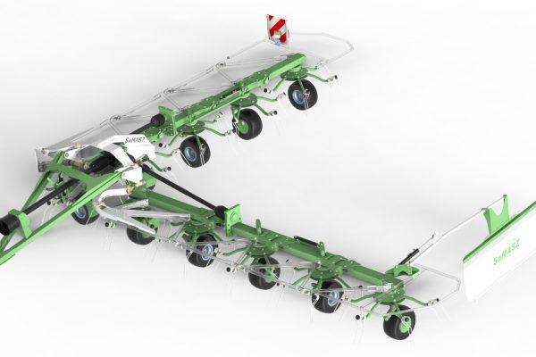 Obracač P10-1200 (10 rotorov) SAMASZ