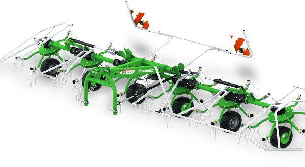 Obracač P6 (6 rotorov) SAMASZ